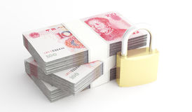 Money and security Royalty Free Stock Photography