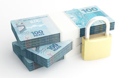Money and security Royalty Free Stock Photos