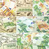 Money set Royalty Free Stock Photography