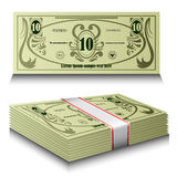 Money set Royalty Free Stock Images