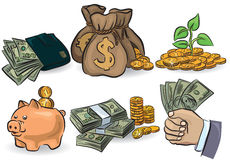 Money set Stock Image