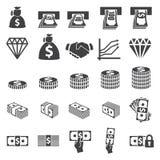 Money set icon vector illustration