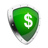 Money Shield Royalty Free Stock Images