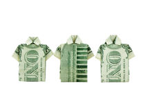 Money Shirts Stock Photo