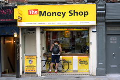 The Money Shop - Soho,London Royalty Free Stock Photography