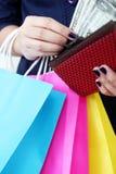 Money for Shopping Stock Photos