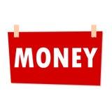 Money Sign - illustration Stock Images