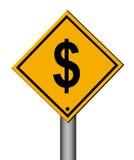 Money signal Royalty Free Stock Photography