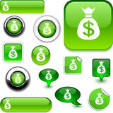 Money signs. Royalty Free Stock Photo