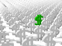 Money Signs Stock Image