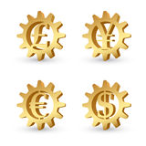 Money signs Royalty Free Stock Images