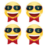 Money Smiley Stock Photos