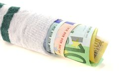 Money sock Royalty Free Stock Images
