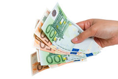 Money spending royalty free stock images