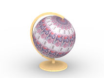 Money sphere royalty free stock photos