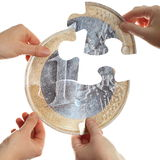 Money split Stock Images