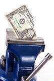 Money squeeze Royalty Free Stock Photos