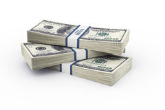 Money stack Stock Photography
