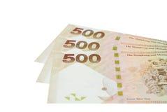 Money stack of Hong Kong five hundred Royalty Free Stock Photography