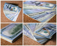 Money stack Royalty Free Stock Images