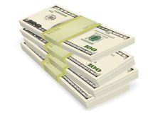 Money stack vector business financial Royalty Free Stock Images