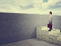 Money stair Stock Photo