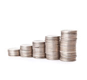 Money staircase Stock Photography