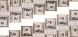 Money staircase Royalty Free Stock Photo