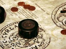 Money stamp royalty free stock image