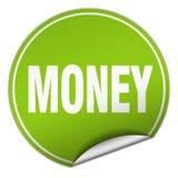 Money sticker. Money round sticker isolated on wite background. money vector illustration
