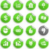 Money stickers. Stock Photos