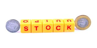 Money and stock Stock Photo