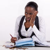 Money stress stock photography