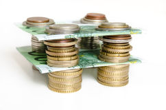 Money structure Royalty Free Stock Images