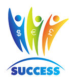 Money success concept Royalty Free Stock Photography