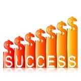 Money Success Concept Stock Image
