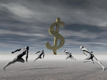 Money and success Stock Images