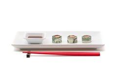 Money sushi Stock Image