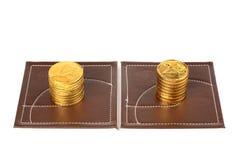 Money-sweets. Royalty Free Stock Photo