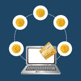 Money symbol currency. Icon vector illustration graphic design Royalty Free Stock Images