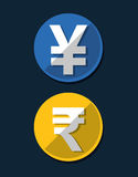 Money symbol currency. Icon vector illustration graphic design Royalty Free Stock Photography
