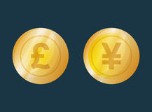 Money symbol currency. Icon vector illustration graphic design Stock Images