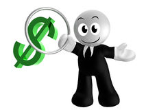 Money symbol trainer 3d icon Stock Images