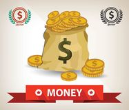 Money symbol,Vector design. Finance Stock Photography