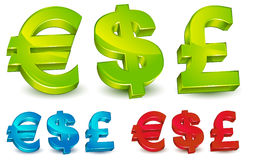 Money Symbols Stock Photo