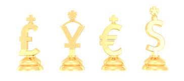 Money symbols Royalty Free Stock Images
