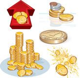 Money Symbols Stock Photography