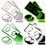Money symbols Stock Images