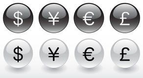 Money symbols Royalty Free Stock Image