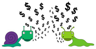 A money talk Stock Images